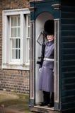 Guardias del ` s de la reina en Londres Fotos de archivo