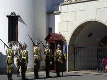 Guardias reales Fotografía de archivo libre de regalías