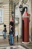Guardias reales de Copenhague Imagenes de archivo