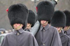 Guardie di Britannici a Londra Fotografia Stock