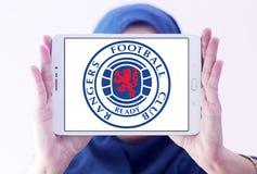 Guardie forestali F C Logo del club di calcio Immagine Stock Libera da Diritti