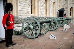 Guardie a Londra, Regno Unito Immagine Stock Libera da Diritti