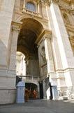 Guardie svizzere della basilica del ` s di St Peter, Città del Vaticano Fotografia Stock