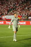 Guardien de but d'Artur Boruc photos stock