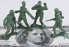 Guarding American Money. Stock Images