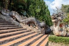 The guarding dragon Stock Photo