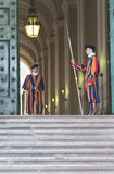 Guarding The Vatican Royalty Free Stock Photo