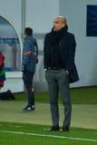 guardiola Josep Dopasowanie między FC Shakhtar vs FC Bayern mistrz ligii Obraz Stock
