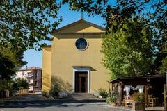 GUARDISTALLO, Πίζα, Ιταλία - ιστορικό χωριουδάκι της Τοσκάνης στοκ εικόνες