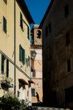GUARDISTALLO, Πίζα, Ιταλία - ιστορικό χωριουδάκι της Τοσκάνης στοκ φωτογραφίες