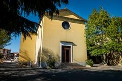 GUARDISTALLO, Πίζα, Ιταλία - ιστορικό χωριουδάκι της Τοσκάνης στοκ εικόνα