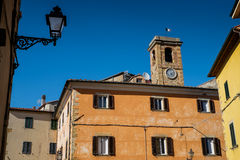 GUARDISTALLO, Πίζα, Ιταλία - ιστορικό χωριουδάκι της Τοσκάνης στοκ εικόνα με δικαίωμα ελεύθερης χρήσης