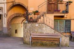 GUARDISTALLO, Πίζα, Ιταλία - ιστορικό χωριουδάκι της Τοσκάνης στοκ φωτογραφίες με δικαίωμα ελεύθερης χρήσης