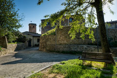 GUARDISTALLO, Πίζα, Ιταλία - ιστορικό χωριουδάκι της Τοσκάνης στοκ εικόνες με δικαίωμα ελεύθερης χρήσης