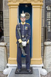 guardkunglig person sweden arkivbild