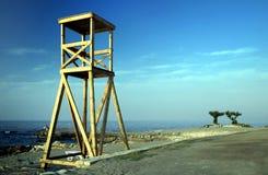 guardlivstidsstation Arkivfoto