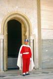 guardmorocco rabat kunglig person Royaltyfria Foton