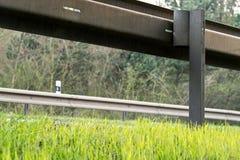 guardrail Arkivfoto