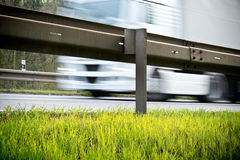 Guardrail Stock Photo