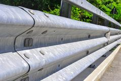 Guardrail protection Royalty Free Stock Images