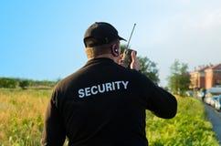 guardsäkerhet Arkivbild