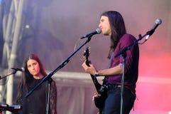 Guards band, performs at Heineken Primavera Sound 2013 Festival Stock Photo