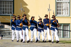 Guards changing Royalty Free Stock Photography