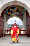 Guards at Gyeongbokgung Palace Stock Photos