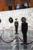 Guards of honor. Stalingrad war memorial. Royalty Free Stock Photography