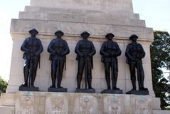 Guards Memorial, Guards Division War Memorial in London, England, Europe Royalty Free Stock Photography