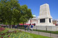 The Guards Memorial at Horse Guard Parade Royalty Free Stock Images