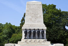 Guards Memorial at Horse Guards Parade in London Stock Photos