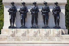 Guards Memorial at Horseguards Parade in London Stock Photo