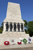 Guards Memorial in London Stock Image