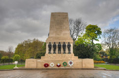 Guards Memorial (WWI) - London, UK Stock Images