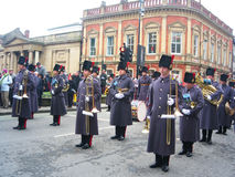 Guards on parade, York, England. Stock Image