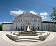 Guards at Rideau Hall. Two guards at the entrance to Rideau Hall in Ottawa, Ontario,Canada stock photos