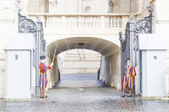 Guards of St. Peter s Basilica, Vatican. Guards of St. Peter s Basilica showing details of basilica, Vatican city stock image