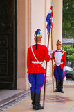 Guards Standing By The Entrance Of National Pantheon Of The Hero Royalty Free Stock Image