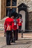 The Guards Tower of London Royalty Free Stock Photography