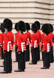 Guards in uniform Royalty Free Stock Image