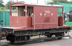 Guards Van. Royalty Free Stock Photo