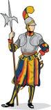 guardschweizare royaltyfri illustrationer