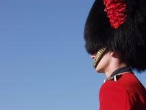 Guardsman en la ciudadela de Quebec Foto de archivo libre de regalías