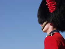 Guardsman at Quebec Citadel Royalty Free Stock Photo
