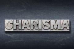 Guarida de la palabra del carisma imagen de archivo