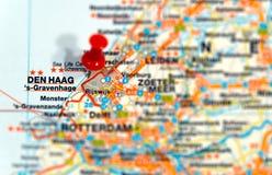 Guarida Haag de la destinación del recorrido Fotos de archivo libres de regalías