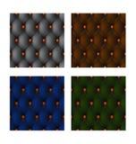 guarnição de couro Multi-colorida Imagens de Stock Royalty Free
