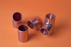 Guarniciones del metal Imagen de archivo libre de regalías