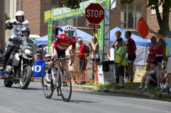 Guarnier Secures Win at Stillwater Criterium Royalty Free Stock Photos